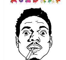 Acid Rap Chance The Rapper by sengkelat