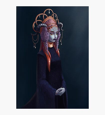 The Demon Bride Photographic Print