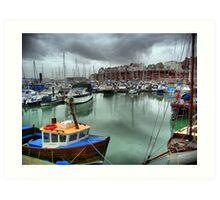 Ramsgate Marina Art Print