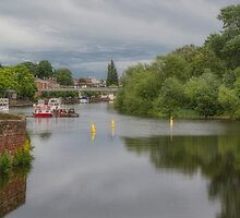River Dee, Chester, England by Elaine Teague