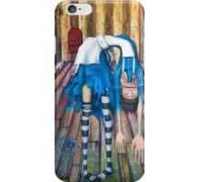 Big Alice, little door iPhone Case/Skin