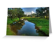 Glen Davis Creek Greeting Card