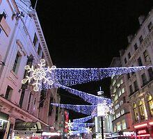 London Christmas Lights  by hannahsart