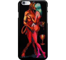 Erotic art hot sex hot red iPhone Case/Skin