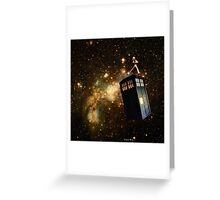 Whobox & the Inter-Galactic hitchhiker Greeting Card
