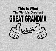 Worlds Greatest Great Grandma Looks Like Womens Fitted T-Shirt