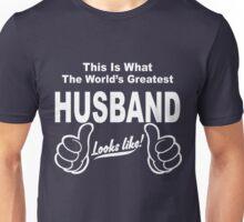 Worlds Greatest Husband Looks Like Unisex T-Shirt