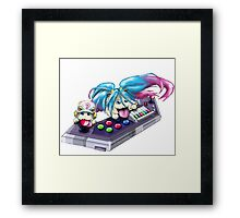 Arcade Poros Framed Print