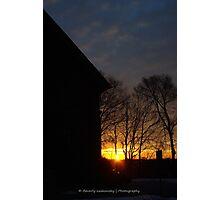Brookline, Pa - December 2013 Sunrise (2) Photographic Print