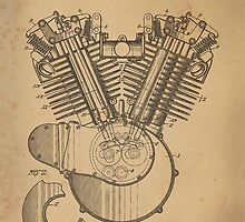 Harley Engine patent  by chris2766