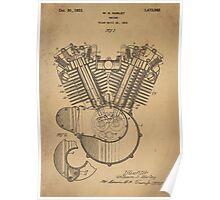 Engine patent  Poster