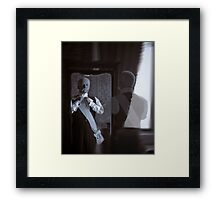 That Which Was.....Is No More. Framed Print