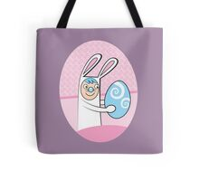 I'm here for Easter cute Bunny rabbit Tote Bag