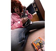 Living room rock star Photographic Print