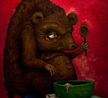 Who the Funk ate my Porridge (oiloncanvas) by DoodlesnDrips