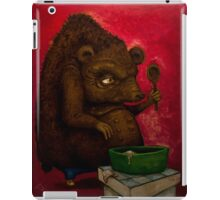 Who the Funk ate my Porridge (oiloncanvas) iPad Case/Skin