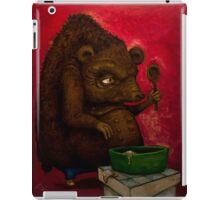 Who the Funk ate my Porridge (oiloncanvas) iPad Case/Skin