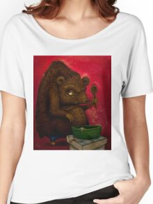 Who the Funk ate my Porridge (oiloncanvas) Women's Relaxed Fit T-Shirt