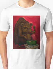 Who the Funk ate my Porridge (oiloncanvas) T-Shirt