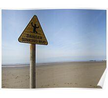 Danger Beach  Poster