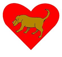 Bloodhound Heart by kwg2200
