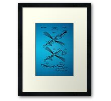 Fish Lure Patent 1933 Framed Print