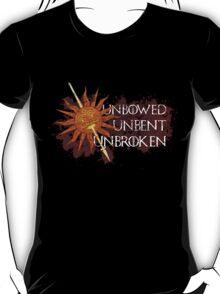 Unbowed Unbent Unbroken - House Martell T-Shirt