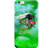 Flying Scotsman with Blinkers iPhone Case/Skin