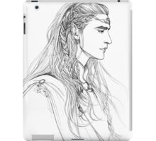 Elf lord iPad Case/Skin
