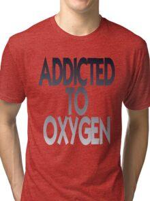 OXYGEN Black Tri-blend T-Shirt