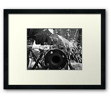 Steamfitter Framed Print