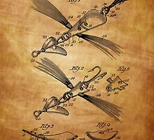 Fish Lure Patent 1933 by chris2766