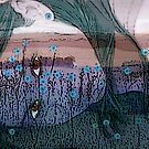 "Girl in a Field of Blue by Belinda ""BillyLee"" NYE (Printmaker)"