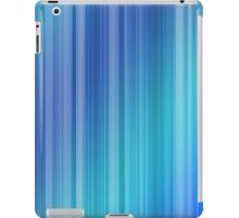 Abstract Blue Stripe Pattern iPad Case/Skin