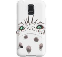 Valka's Bewilderbeast fiery eyes Samsung Galaxy Case/Skin