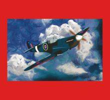 Supermarine Spitfire WWII One Piece - Long Sleeve