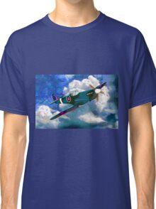 Supermarine Spitfire WWII Classic T-Shirt
