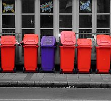 Pretty Bins All In A Row by Karen Martin IPA