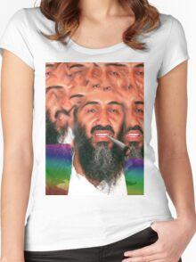 dayum osama, dis iz sum dank ku$h Women's Fitted Scoop T-Shirt