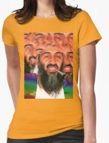 dayum osama, dis iz sum dank ku$h Womens Fitted T-Shirt