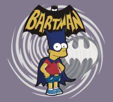 Bartman: the simpsons superheroes Kids Clothes