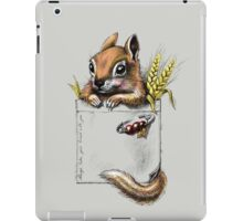 Pocket chipmunk iPad Case/Skin