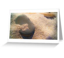Sand and Rock #1 Greeting Card