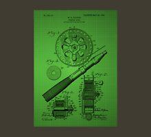 Fishing Reel Patent 1906 - Green Unisex T-Shirt