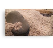 Sand and Rock #2 Canvas Print