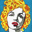 Marilyn Monroe by Angelique Moselle Price