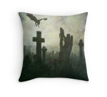 The Resting Place Throw Pillow