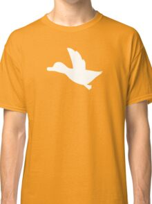 Duck Hunt Symbol - Super Smash Bros. (white) Classic T-Shirt