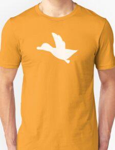 Duck Hunt Symbol - Super Smash Bros. (white) Unisex T-Shirt