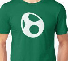 Yoshi Symbol - Super Smash Bros. (white) Unisex T-Shirt
